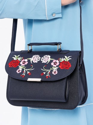 Navy Blue - Navy Blue - Shoulder Bags
