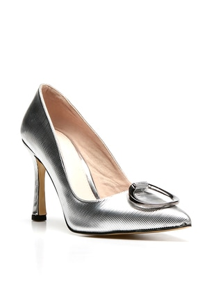 Silver tone - Boot - Shoes