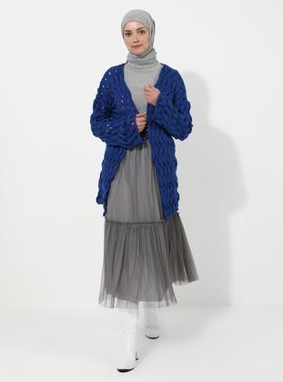Saxe - Acrylic - Cardigan