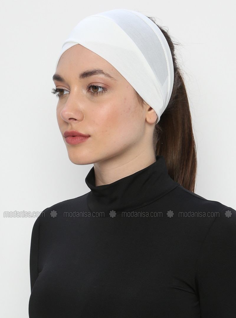 Cream - Plain - Simple - - Bonnet