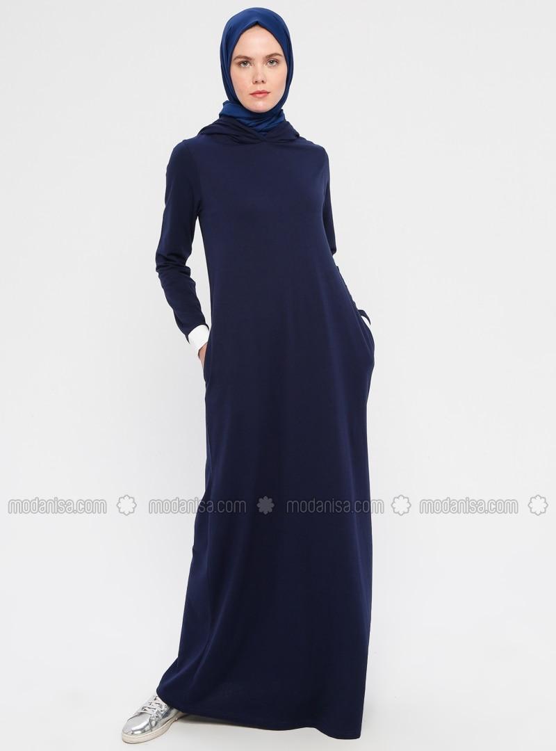 Indigo - Unlined -  - Dress