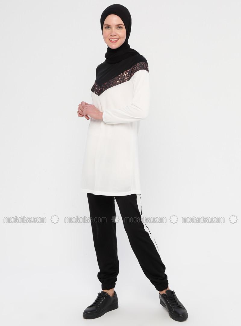 Ecru - Leopard - Unlined - Suit