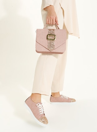 Gold - Pink - Casual - Suit
