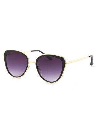 Gold - Purple - Sunglasses