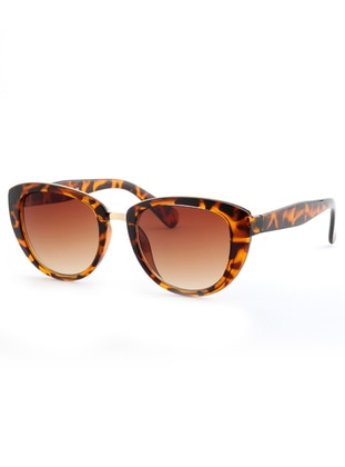 Brown - Leopard - Sunglasses