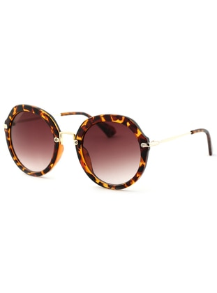 Brown - Leopard - Sunglasses