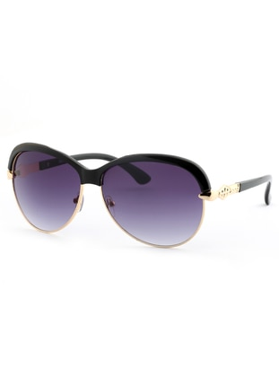Purple - Black - Sunglasses