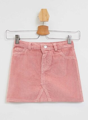 Pink - Girls` Skirt - DeFacto