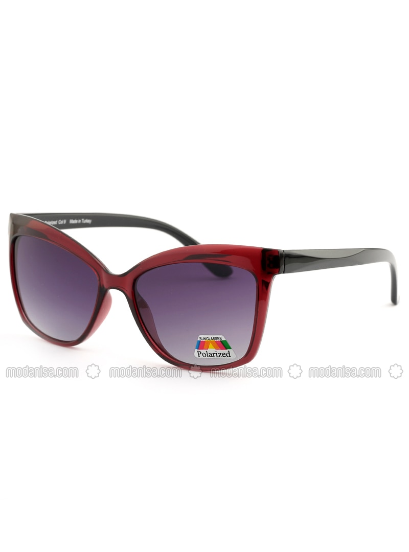 Maroon - Purple - Sunglasses