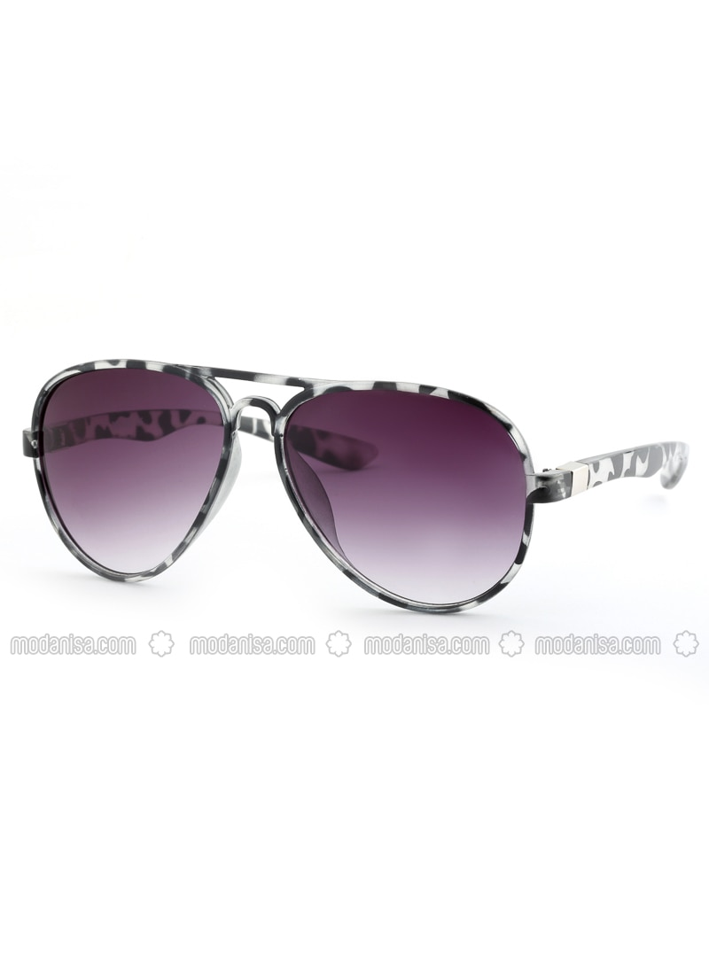 Leopard - Purple - Sunglasses
