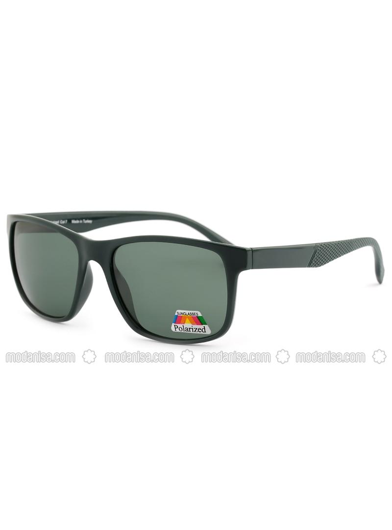 Black - Green - Sunglasses