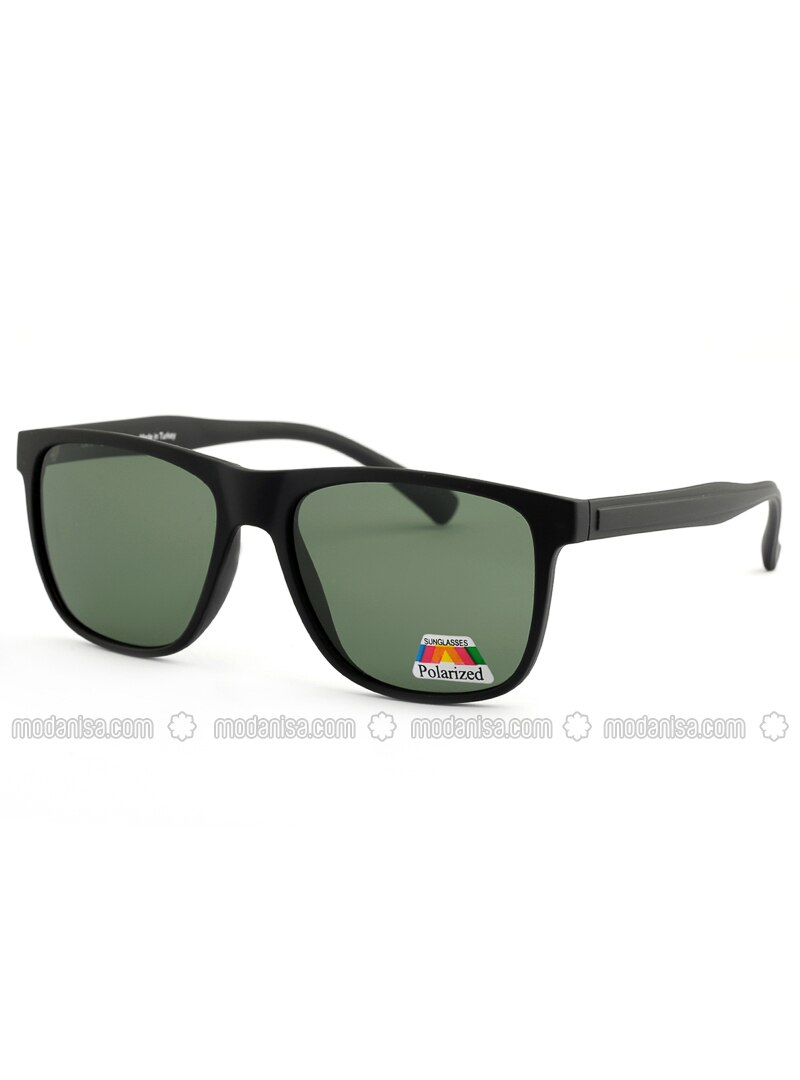 Black - Green - Sunglasses