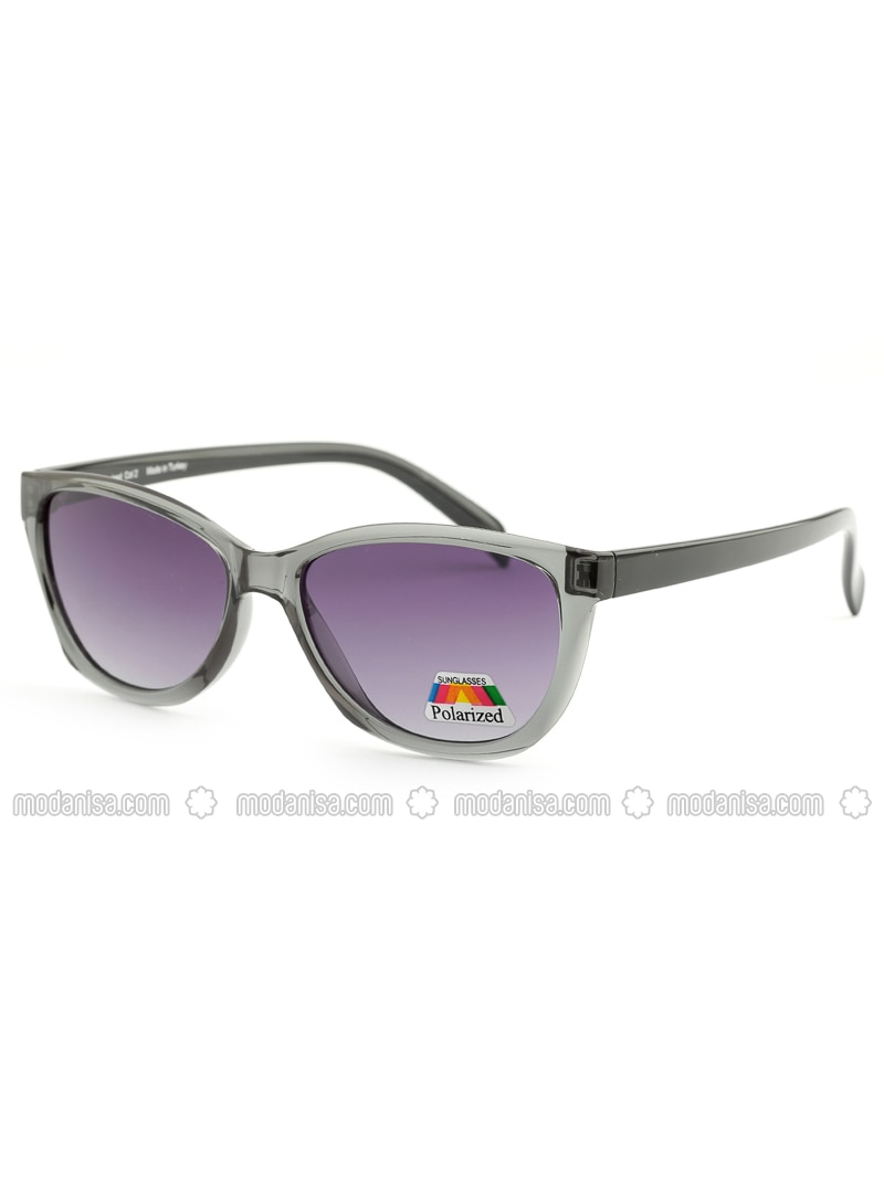 Purple - Black - Sunglasses