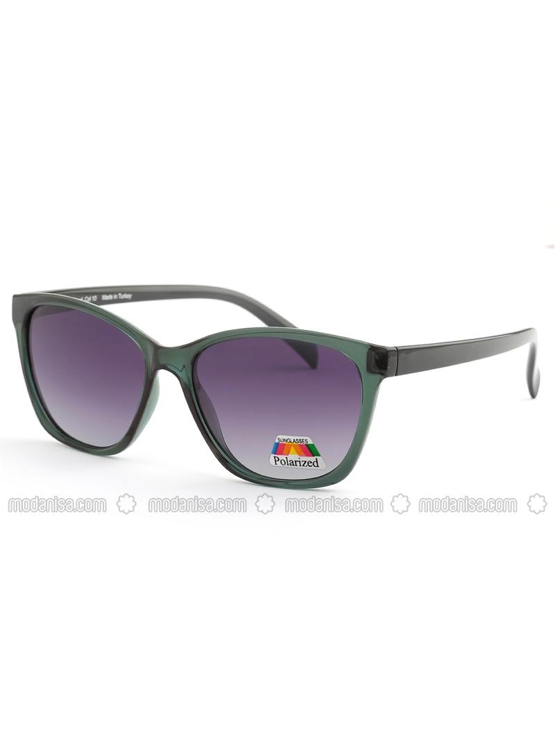 Purple - Green - Sunglasses