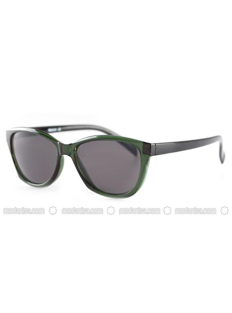 Smoke - Green - Sunglasses