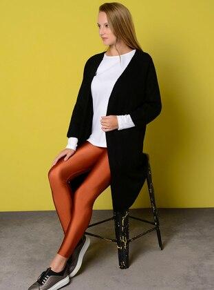 Black - Unlined - Acrylic -  - Jacket