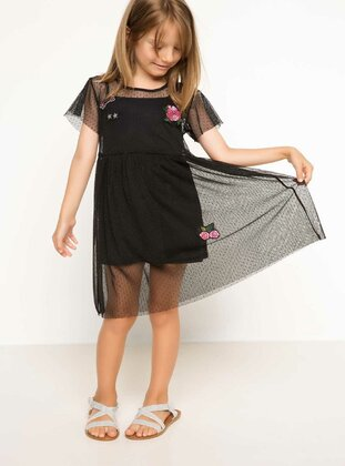 Black - Girls` Dress