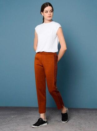 Terra Cotta - Acrylic -  - Pants
