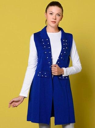 Saxe - Unlined - Shawl Collar - Acrylic -  - Vest