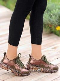 Khaki - Casual - Shoes