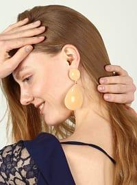Beige - Earring