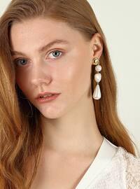 Ecru - Earring