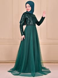 Emerald - Crew neck - Dress