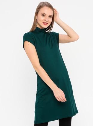 Emerald - Polo neck - Viscose - Tunic