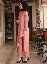 Powder - Unlined - Crepe - Suit