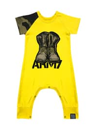 Crew neck -  - Unlined - Yellow - Overall