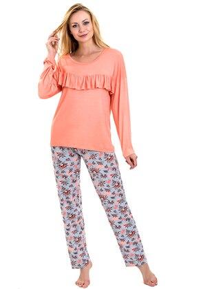 Crew neck - Floral - Pyjama