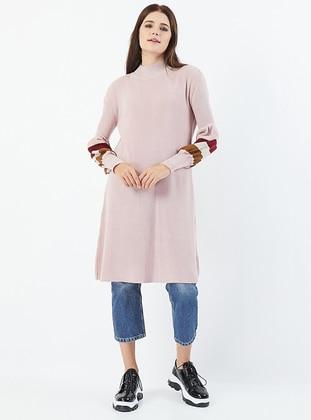 Powder - Polo neck - Acrylic -  - Knit Tunics
