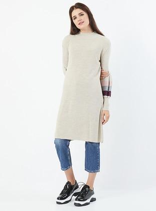 Stone - Polo neck - Acrylic -  - Knit Tunics