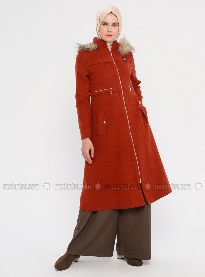 Terra Cotta - Fully Lined - Coat