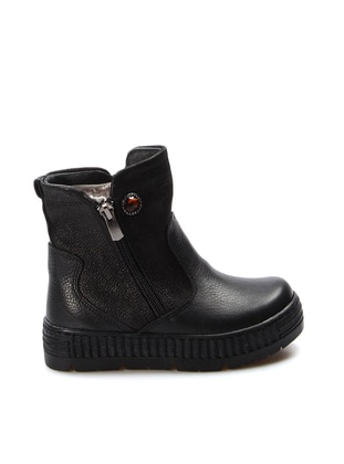 Black - Boot - Girls` Shoes