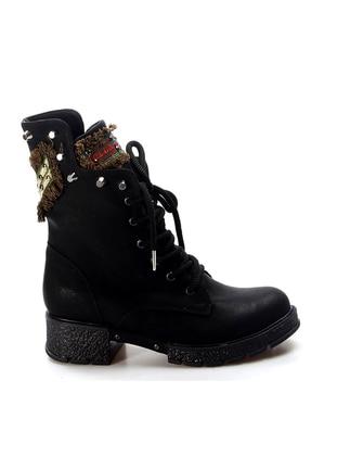 Black - Emerald - Boot - Boots