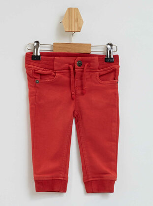 Red - Baby Pants