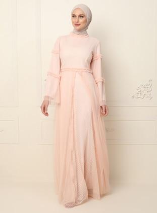 Powder - Polo neck - Fully Lined - Dress
