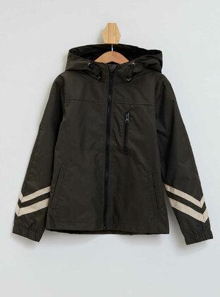 Khaki - Boys` Raincoat