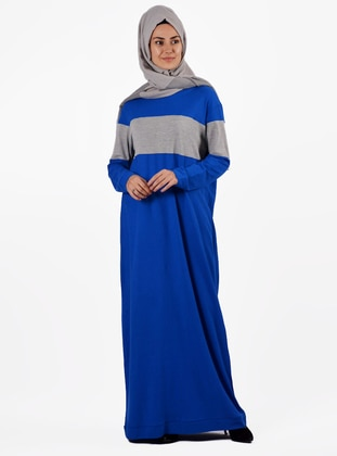 Saxe - Crew neck - Unlined -  - Dress