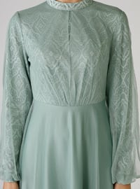 Green Almond - Polo neck - Unlined - Dress
