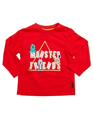 Multi - Red - baby t-shirts