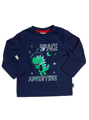 Multi - Navy Blue - baby t-shirts