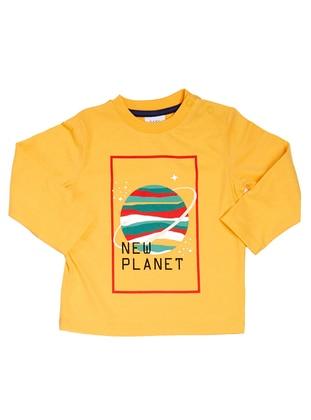 Multi - Yellow - baby t-shirts
