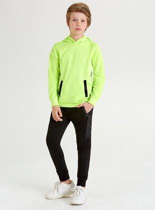 - Green - Boys` Sweatshirt