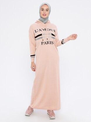 Powder - Unlined - Acrylic -  - Wool Blend - Dress