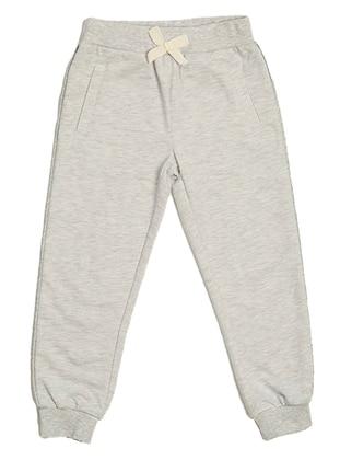 Gray -  - Girls` Sweatpants