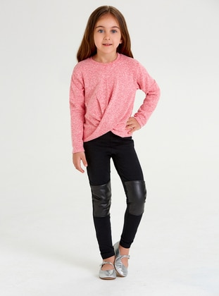 - Unlined - Black - Girls` Leggings