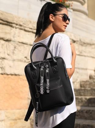 Black - Backpacks - MOON
