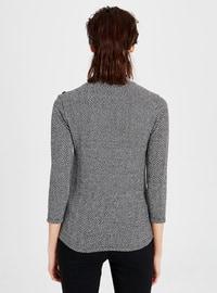 Stripe - Black - T-Shirt